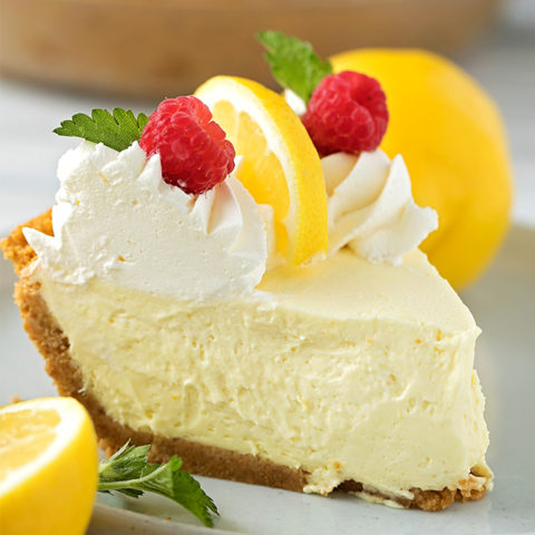 Heavenly Lemon Cream Pie
