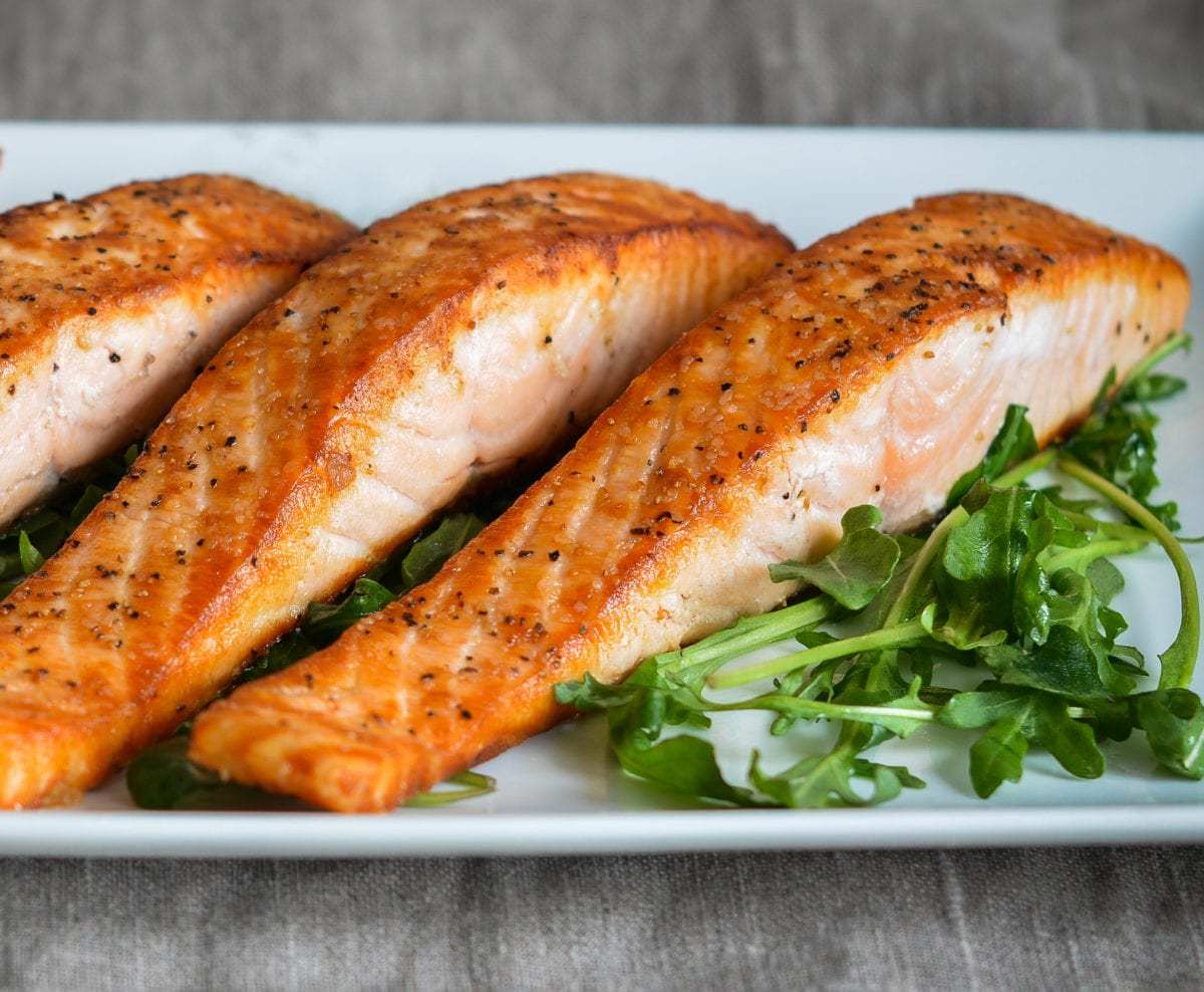 Restaurant-Style Pan-Seared Salmon
